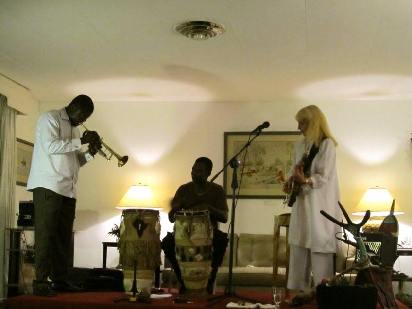 Reception at the US Embassy, Cotonou