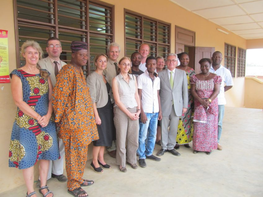 The French Ambassador visits CIAMO