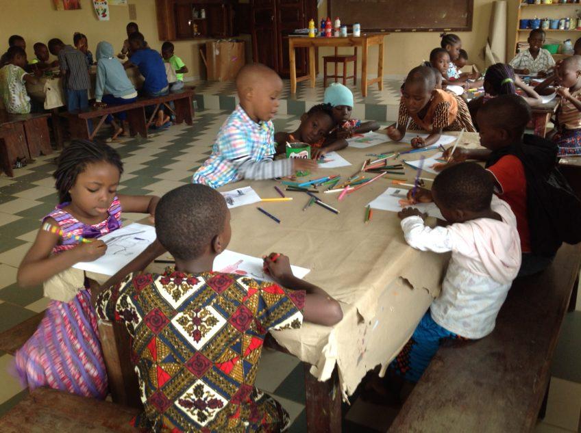 Les cours  artistiques au CIAMO