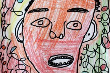 CM1/CM2: les portraits sans et avec un miroir | 4th/5th grades: portraits with and without a mirror