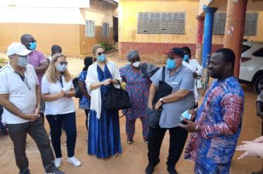 Visite des Ambassadeurs au Centre CIAMO